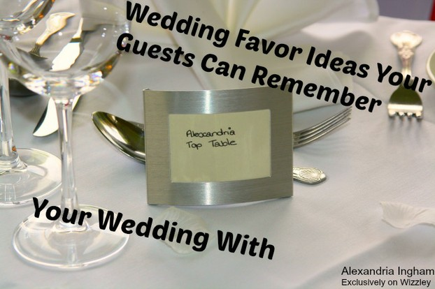 Are You Ready To Give Your Wedding Guests Gifts