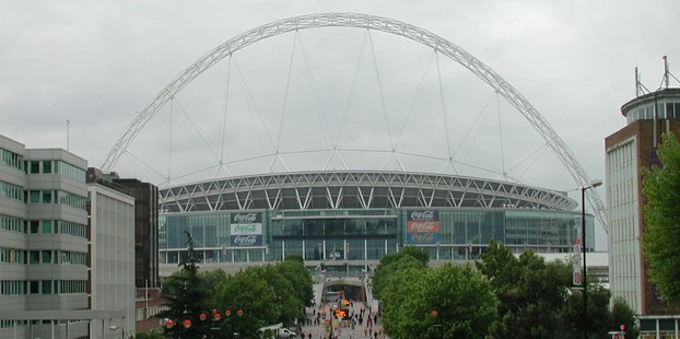 The cup final will be held at Wembley Stadium
