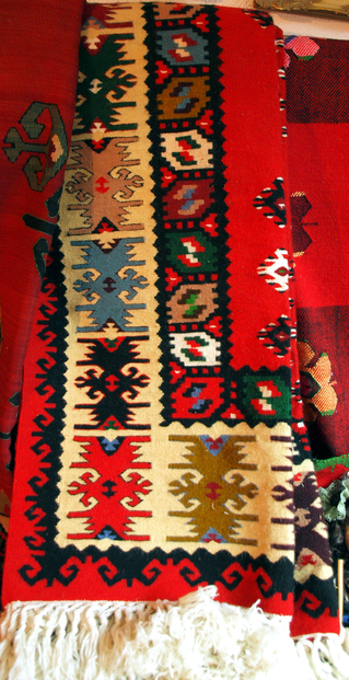Pirot carpet (Serbian: Пиротски ћилим, Pirotski ćilim): flat weave carpets traditionally produced in southeastern Serbian town of Pirot