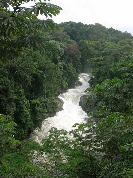 Kwa Falls, along the Kwa River in Cross River State