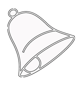 Church Bell Coloring Page