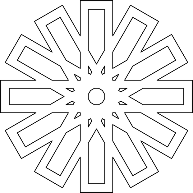 geometric pattern coloring page - Geometric Patterns Coloring Pages