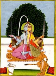 Painting Of Ardhanarisvara