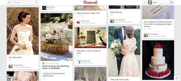 Feed from the Weddings Category