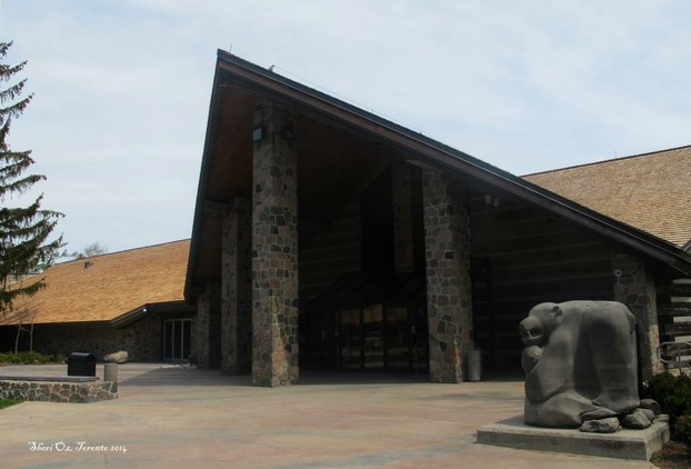 Entrance to McMichael Gallery