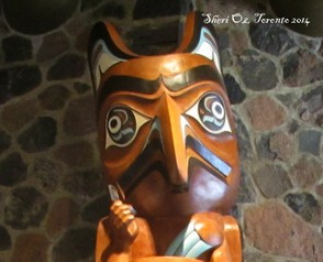 Totem With Cellphone