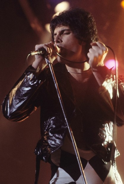 Freddie Mercury in New Haven, CT, at a WPLR (99.1 FM) Show, November 1978