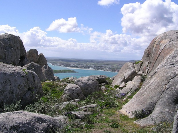 Granite formations overlooking Langebaan Lagoon