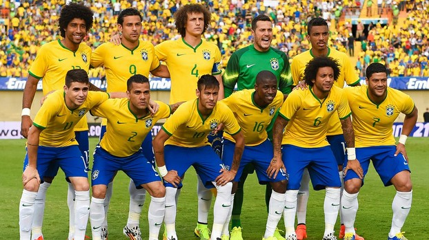 Brazil are favourites to win it again