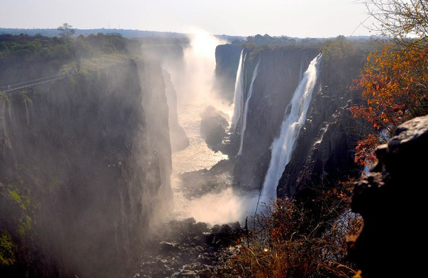 Victoria Falls, First Gorge, Zambian Side
