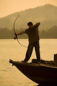 Rambo Fishing Bow and Arrow