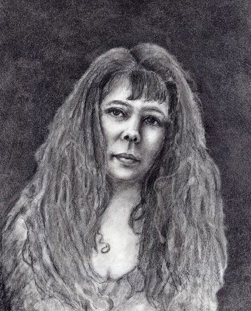 Shannon's Self Portrait Drawing