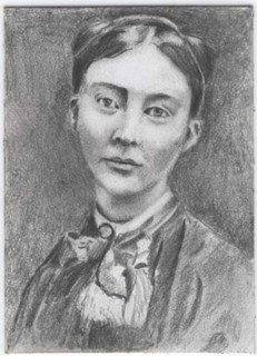 Portrait Drawing of Mary Cassatt