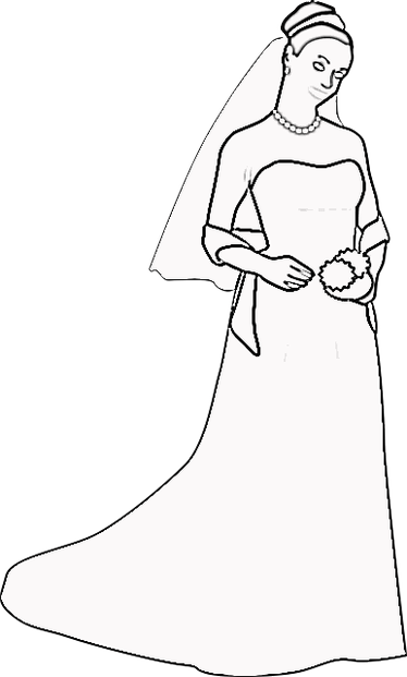 Wedding Coloring Books Pages
