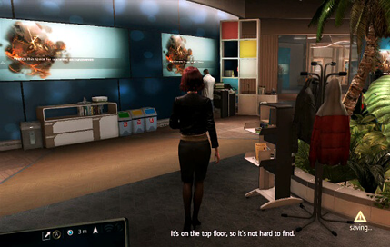 Assassin's Creed 4 - Abstergo Entertainment work area