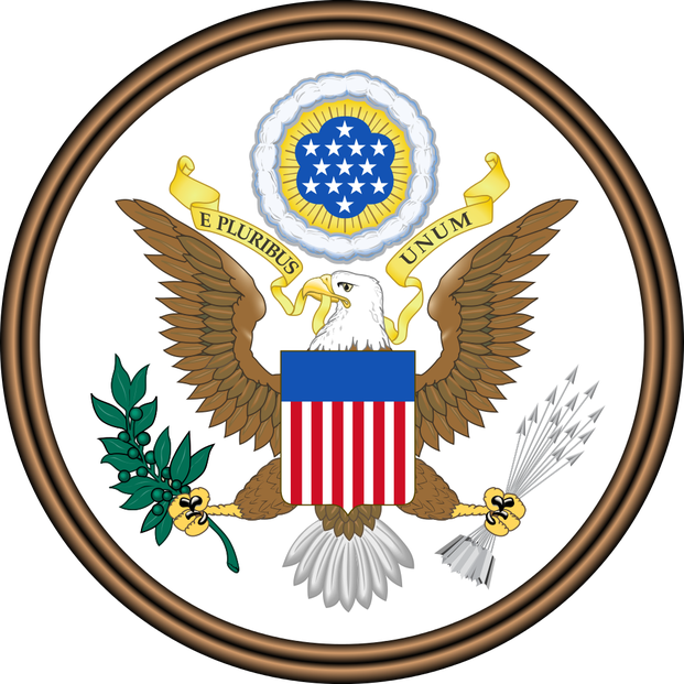 obverse of Great Seal of the United States