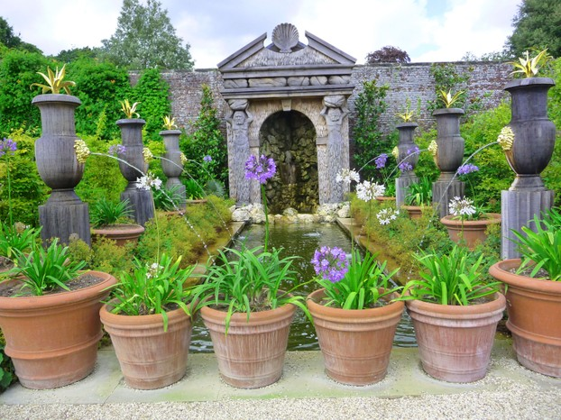 Part of The Collector Earl's Garden at Arundel Castle