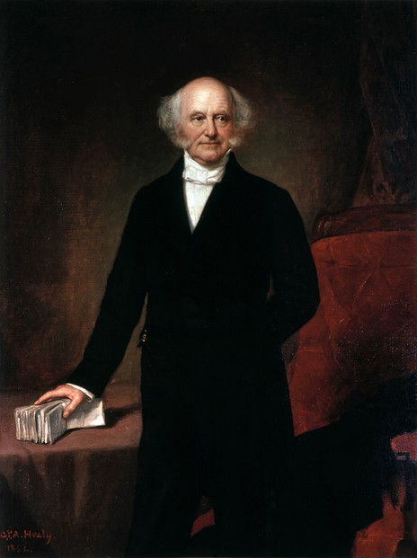 Official Presidential portrait of Martin van Buren