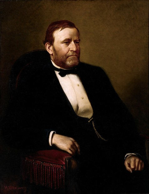 Official Presidential portrait of Ulysses S. Grant