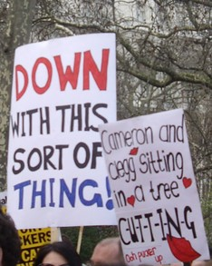 Image: Anti-Austerity Protest, London (2011)