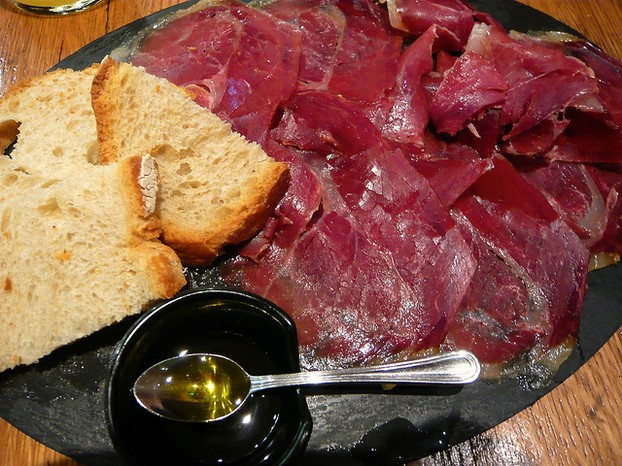 This Gourmet Ham is Shaved Thin, Then Paired with Rustic Bread