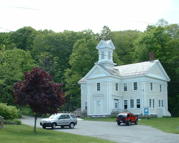 The Becket Arts Center, located in North Becket, intersection of Main St (Rte. 8) & Booker Hill Rd, Becket, MA