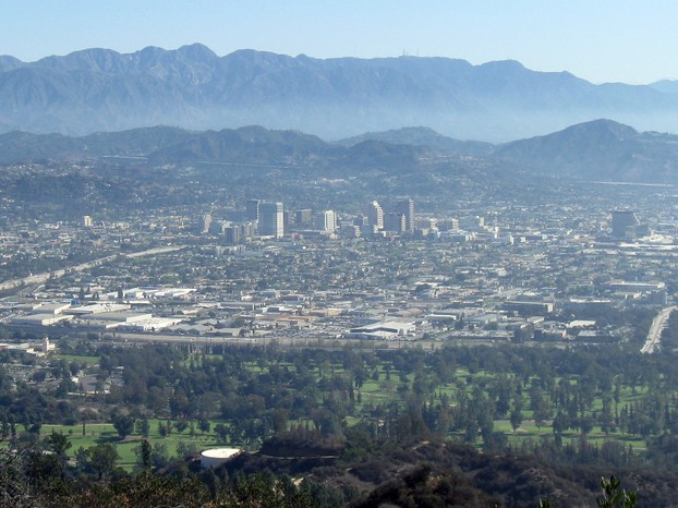 Glendale and the San Gabriel Mountains