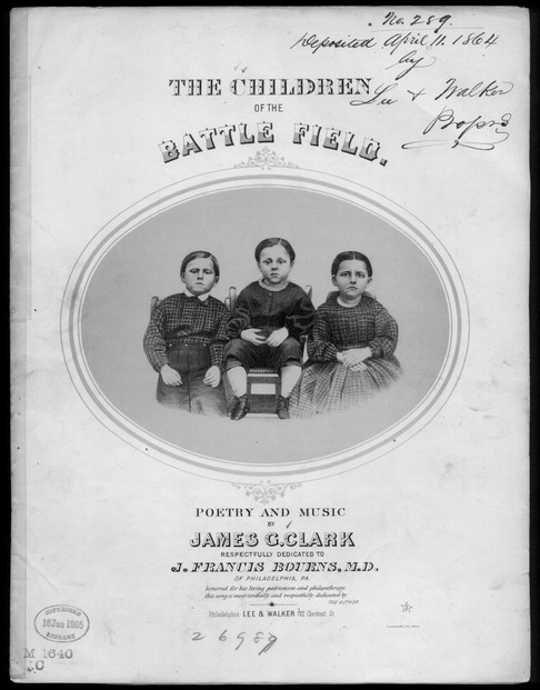 Civil War Sheet Music Collection