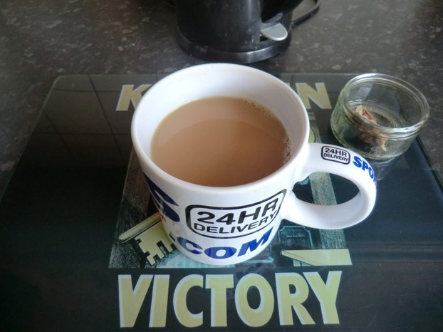 Image: Perfect British made cup of tea