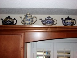 Collecting Blue Teapots