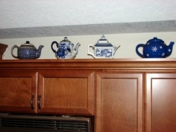 Blue Teapot Collection