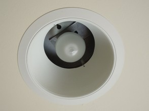 Cree 9.5W in Recessed Fixture