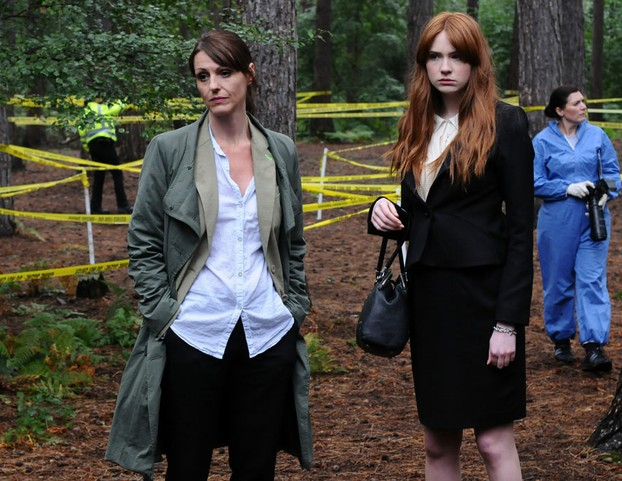 Suranne Jones and Karen Gillan in Touch of Cloth
