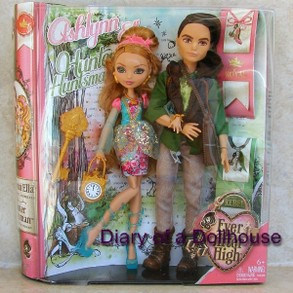 Ashlynn Ella and Hunter Huntsman Dolls From Mattel