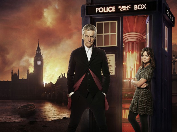 Peter Capaldi's Doctor and Clara start their first adventure together
