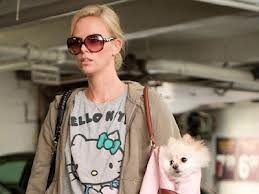Charlize Theron Wears Hello Kitty