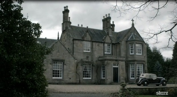 Image: Rev Wakefield's Rectory in Outlander