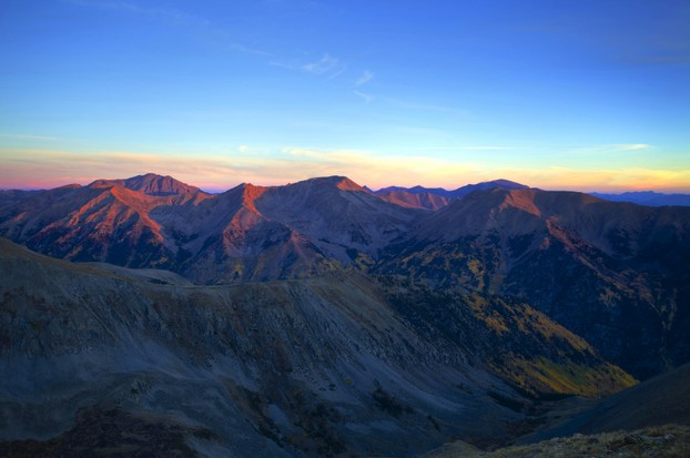 """Sunrise on the High Country"": 14ers aplenty"