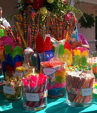 Fun Candy Buffet