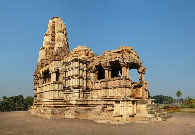 Temple at Khajuraho in MP