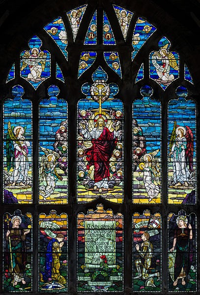 Stained Glass, St. Matthew's Church, Paisley, Scotland