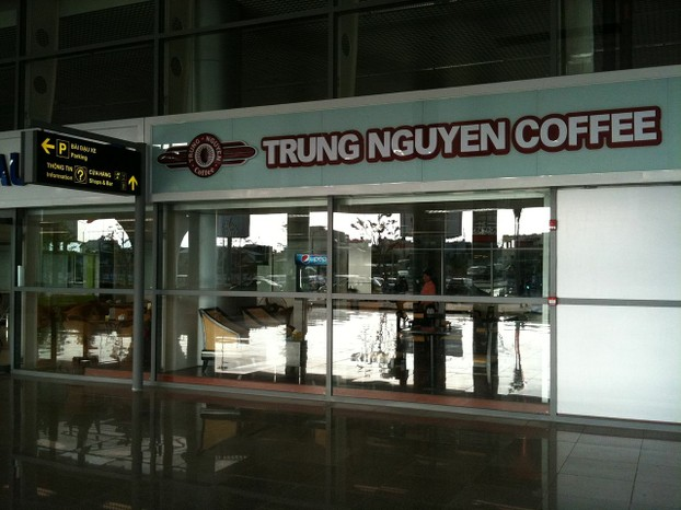 marketing strage or trung nguyen coffee