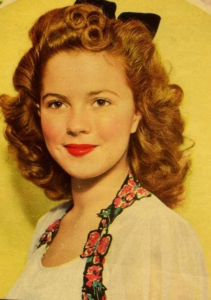 Shirley Temple in 1943