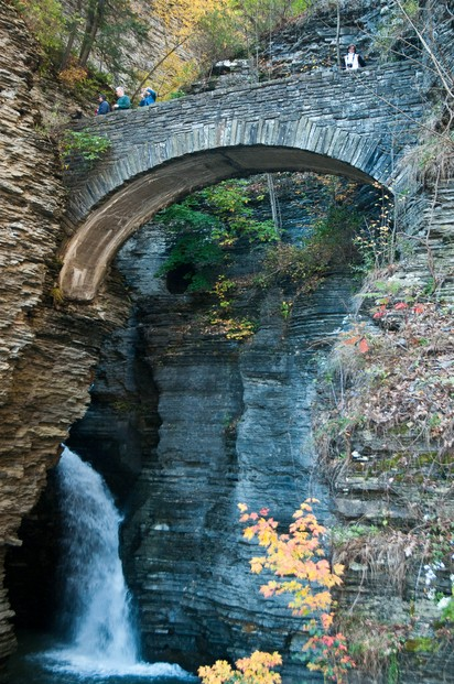 Watkins Glen: bridge
