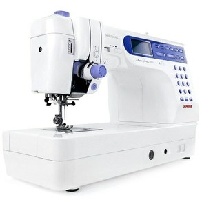 "Janome MC6500P 9""Arm Computer Sew Quilt Machine"