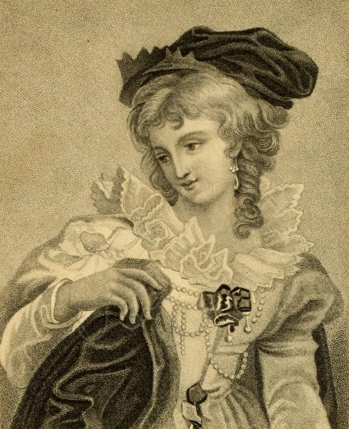 "Mrs. Sarah J. Hale, ""Anne Boleyn,"" Ladies' Magazine and Literary Gazette (1831), frontispiece"