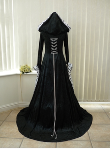 Pagan Medieval Handfasting Dress