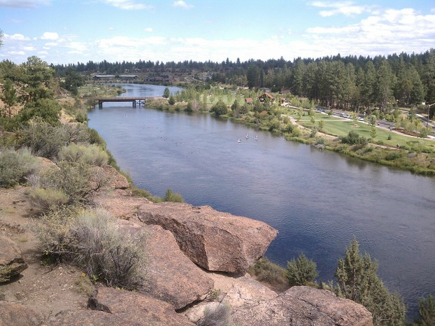 Bend, Deschutes County, central Oregon