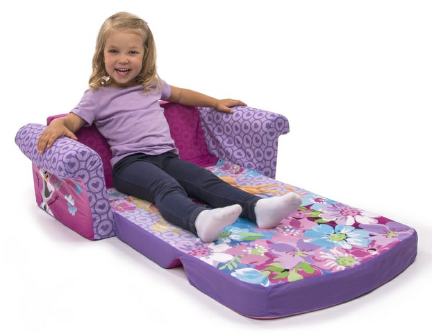 Disney Frozen Flip Out Kid's Sofa Chair