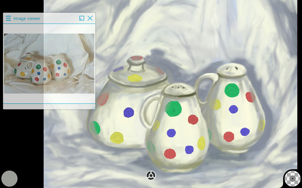 Shading the Polkadots